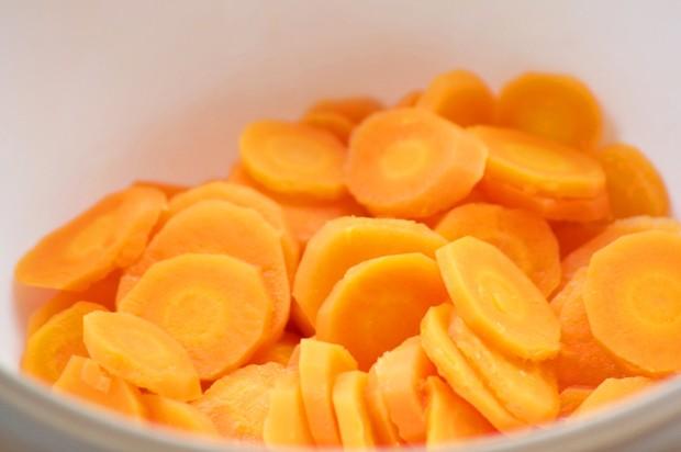 Gedünstete Karotten