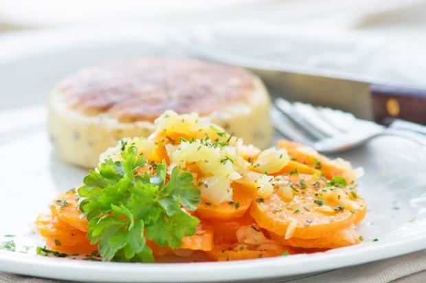 Karotten-Schalotten-Gemüse