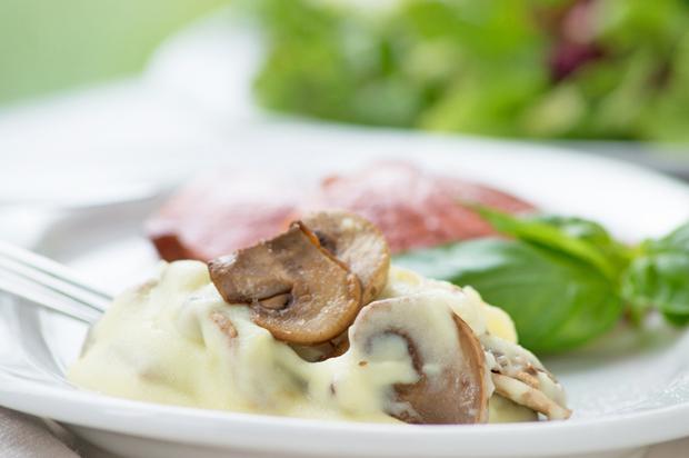 Pilz-Kartoffelpüree