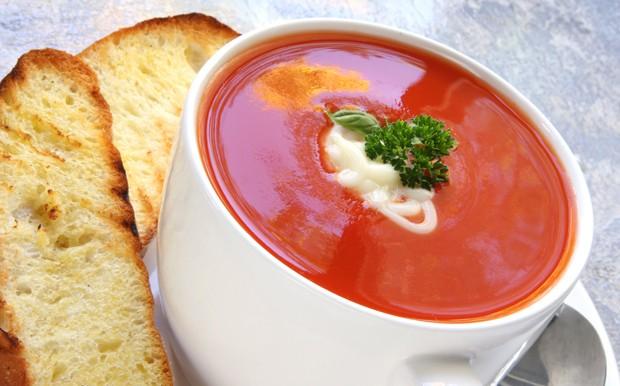 Raffinierte Tomatensuppe
