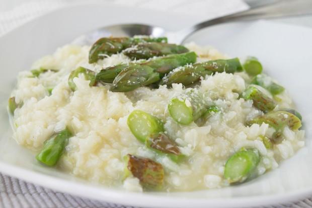 Risotto agli asparagi - Risotto mit Spargel