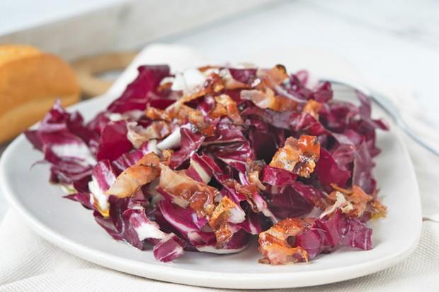 Radicchio-Speck-Salat
