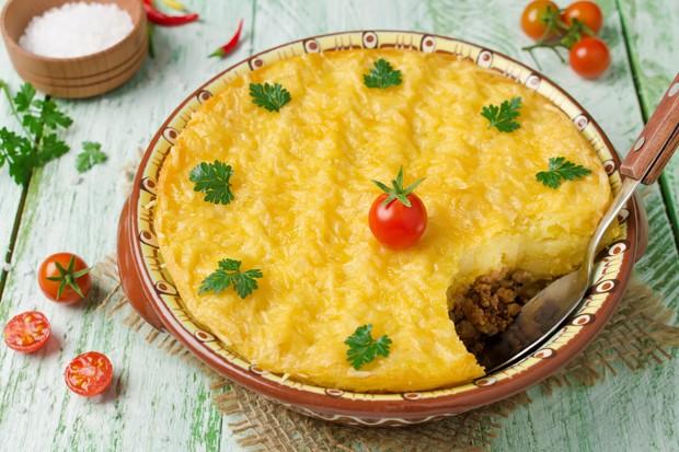 Kartoffel-Fleisch-Quiche