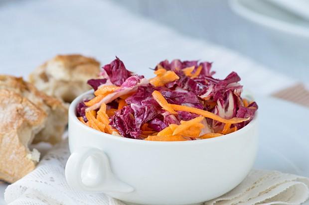 Radiccio-Karotten-Salat
