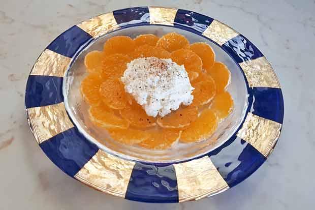 Mandarinen-Carpaccio