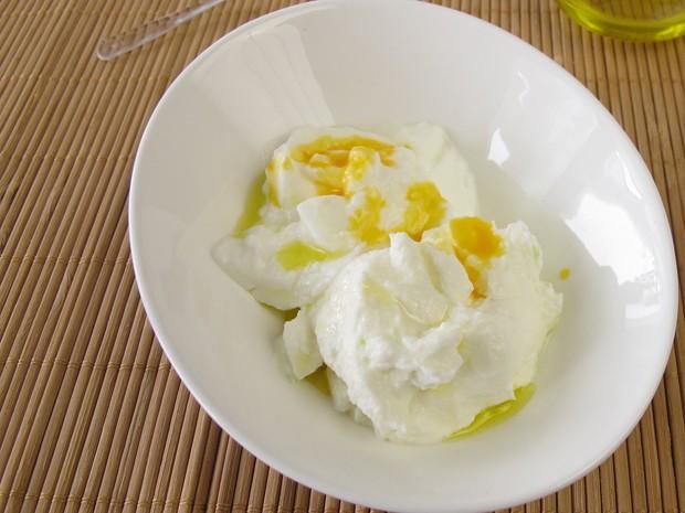 Eier mit Joghurt