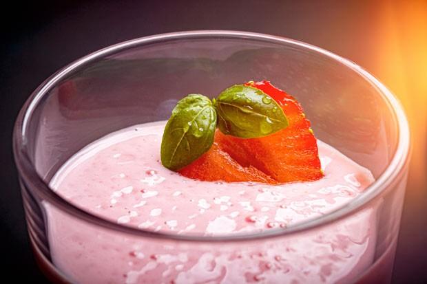 Fruchtige Topfen-Creme