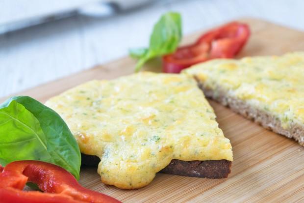 Überbackener Toast mit Ei