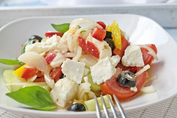 Sommerlicher Feta-Salat