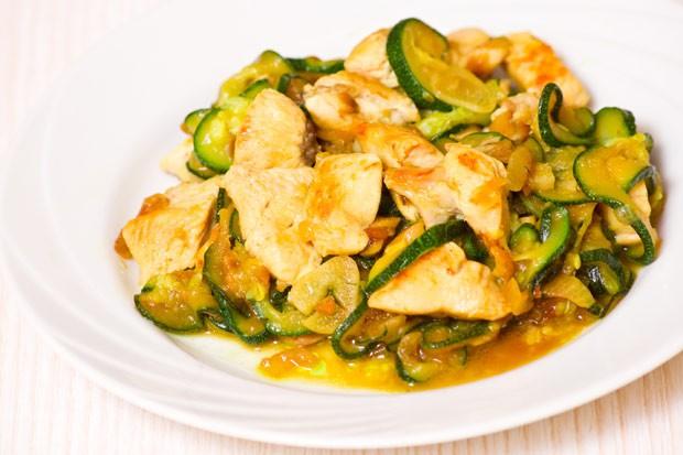 Puten-Zucchini-Pfanne