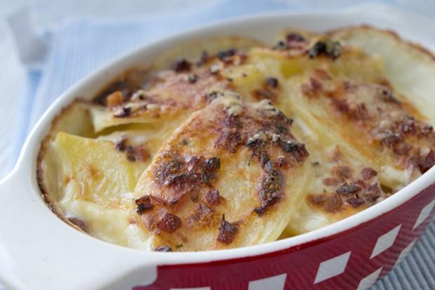 Käse-Kartoffel-Gratin