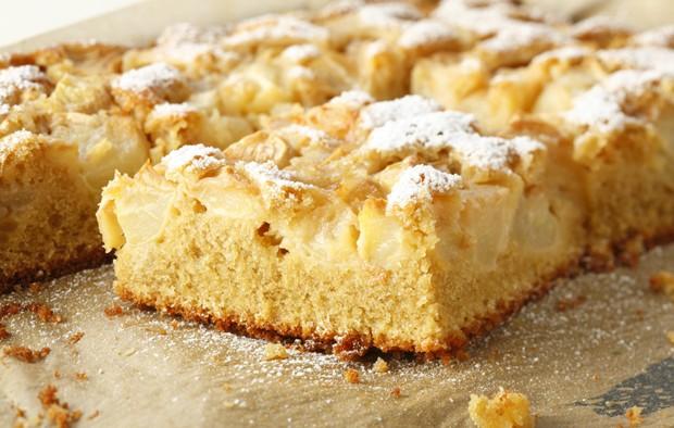 Apfelkuchen mit Dinkelmehl