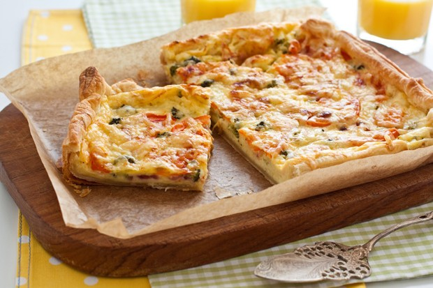 Blätterteig Pizza