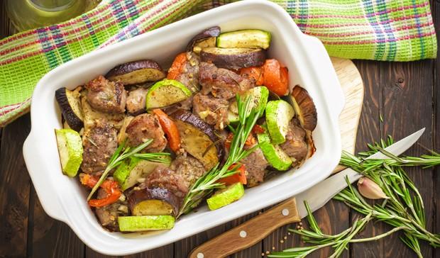 Roastbeef mit Schmorgemüse