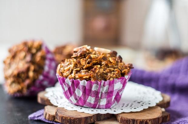Apfel-Haferflocken-Muffins