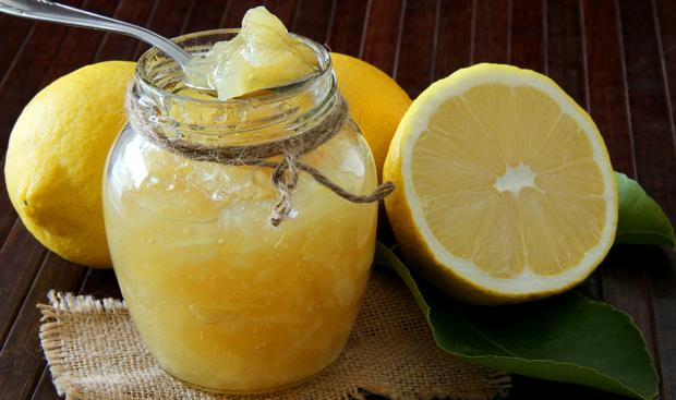 Einfache Zitronenmarmelade