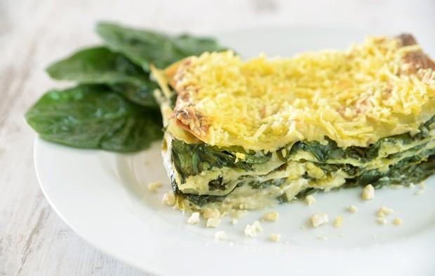 Lasagne mit Spinat