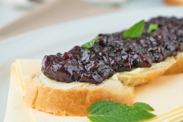 Kirsch-Minze-Marmelade