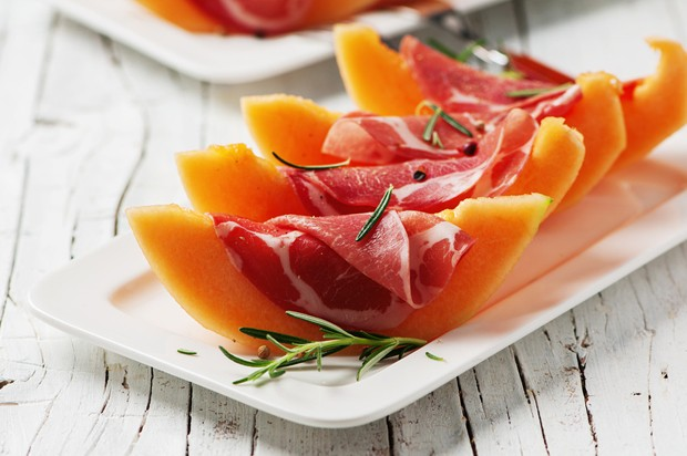 Melone mit Prosciutto