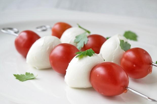 Mozzarella Gemüsespieße