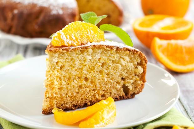 Orangenkuchen mit Joghurt