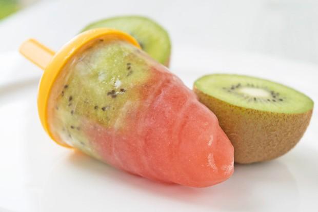 Melonen-Popsicles