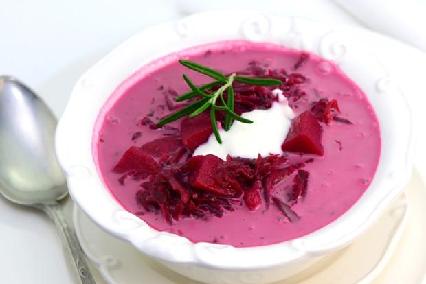 Einfache Rote Rüben Suppe