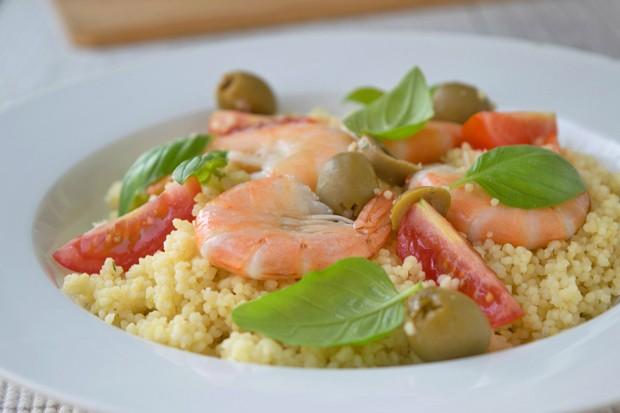 Couscous mit frutti di mare