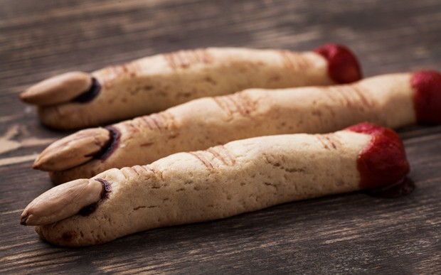 Gruselige Halloween Finger