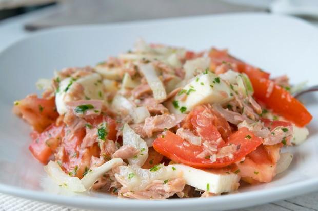 Thunfischsalat mit Mozzarella