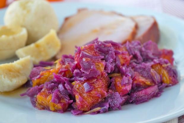 Orangenrotkraut - Rotkraut mit Orangen