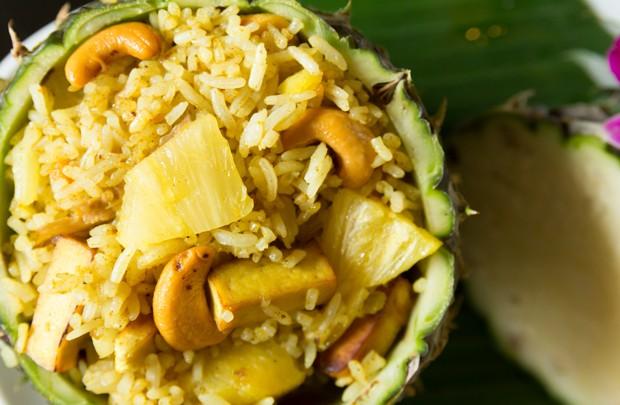 Indisches Curry-Reisfleisch