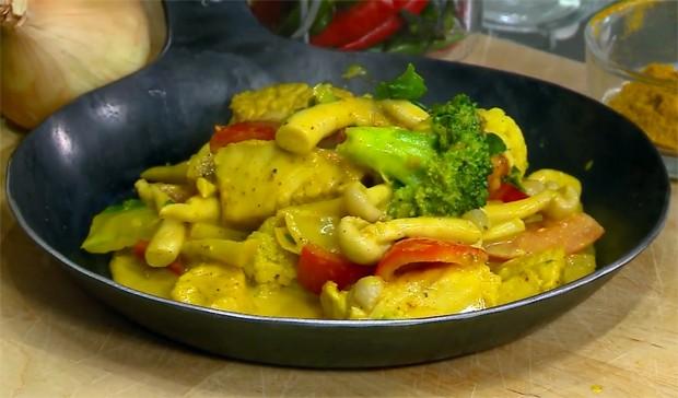 Curry-Putengulasch