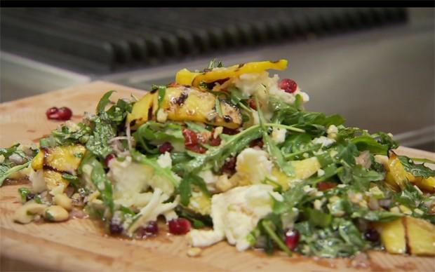Mozzarella-Mango-Salat