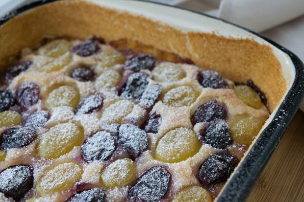 Weintraubenkuchen