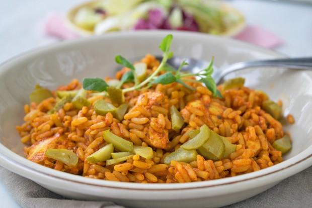 Gurkerl-Reisfleisch
