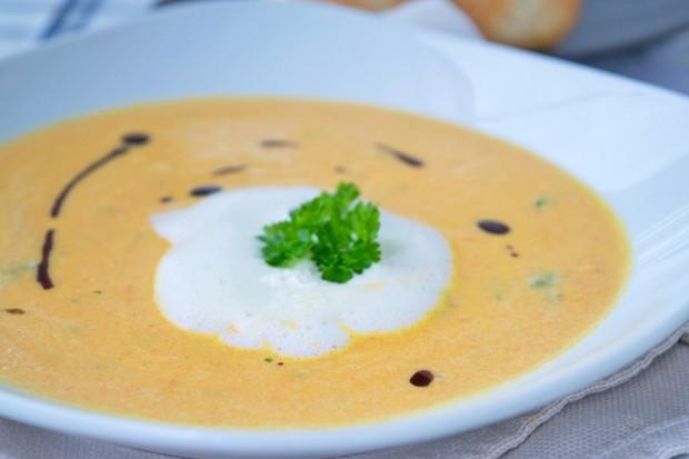 Stangenkürbis Suppe