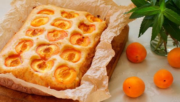 Marillen Blechkuchen mit Öl