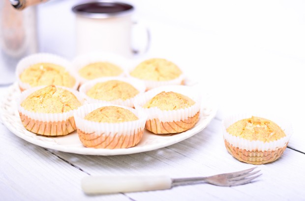 Muffins ohne Butter