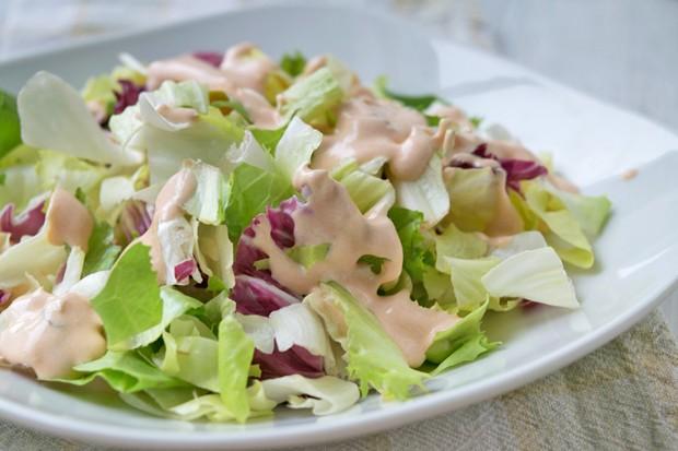 Cocktailsauce für Salat