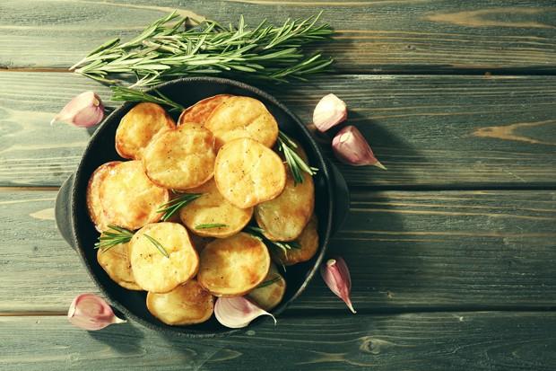 Backofenkartoffeln mit Rosmarin