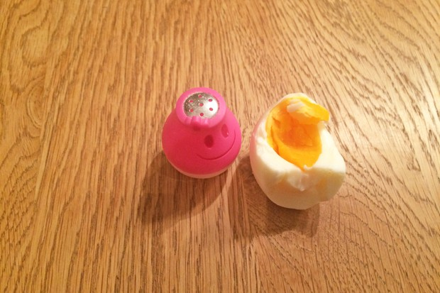 Hartgekochte Eier - Hartes Ei