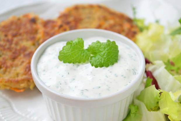 Minze-Joghurtdip