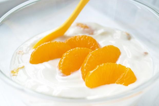 Mandarinen-Topfencreme