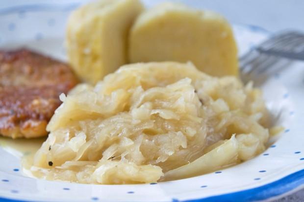 Sauerkraut mit Kartoffeln