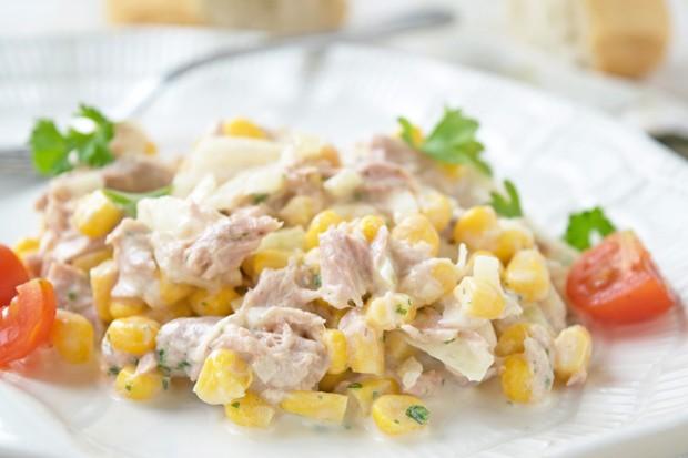 Thunfischsalat mit Mayonnaise