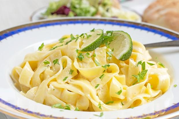 Limettensauce für Pasta