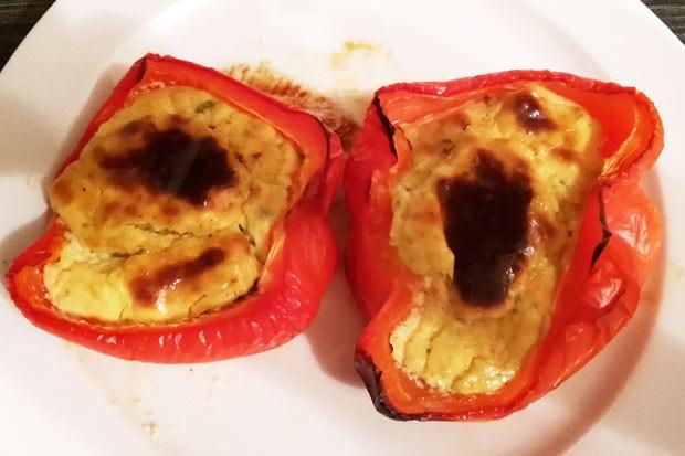 Frischkäse-Paprika