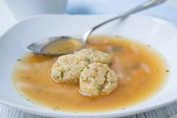 Tofu-Suppenknödel
