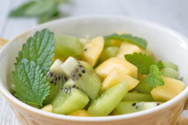 Mango-Kiwi-Obstsalat
